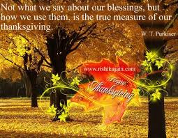 Beautiful Happy Thanksgiving Quotes
