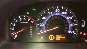 Transmission Light On Honda Odyssey Check Transmission Flashing D P0873 4th Gear Pressure Switch Replacement
