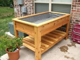 planter box with legs elevated planters planters elevated planter box plans how to build a raised garden bed with legs rectangular planter box on legs