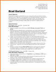 Career Change Resume Objective Examples Resume For Study