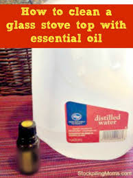 how to clean a glass stove top with essential oil jpg