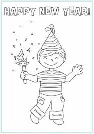14 Best New Years Eve Festivities Images New Year Coloring Pages