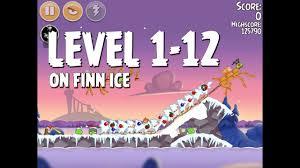 Angry Birds Seasons On Finn Ice Level 1-12 Walkthrough ...