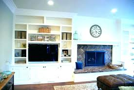 fireplace built ins in cabinets shelves around plans bu