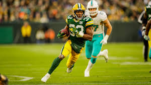 Aaron Jones nominated for NFL ground player of the week