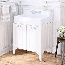 bathroom console vanity. Oak Hill White Bathroom Sink With Vanity Console S