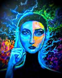 Brainstorm Woman Lightning Electricity Brain Epilepsy