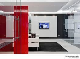 black and white office design. black white orange office design and