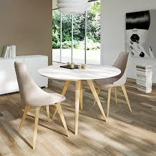 elan legno round extending dining table 0