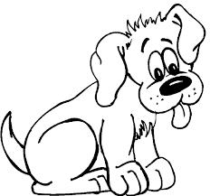Small Picture Young Dog Coloring Pages of Animals Free Printable Coloring Pages