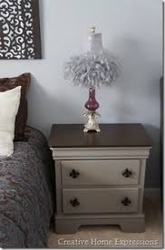 refinishing bedroom furniture ideas. french linen chalk paint u0026 gel stain on night stand furniturepaint bedroom furniturefurniture refinishingpainted refinishing furniture ideas d