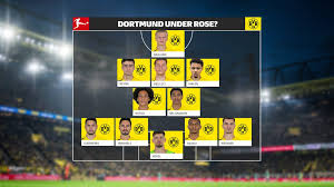 How many players can a club register, when is the deadline and what changes can. Bundesliga How Will Borussia Dortmund Line Up Post Jadon Sancho