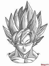 Small Picture Goku Vs Majin Boo Colouring Pages Throughout Goku Coloring Pages