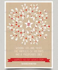 Business Christmas Card Template 33 Holiday Card Templates Free Premium Download