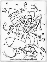 New Years Eve Coloring Page New