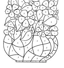 Printable Coloring Pages Of Flowers And Butterflies Flowers Coloring Pages Free Printable Johnnyknives Co