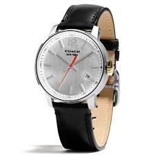 coach men watches best watchess 2017 coach bleecker stainless steel three hand strap watch in metallic