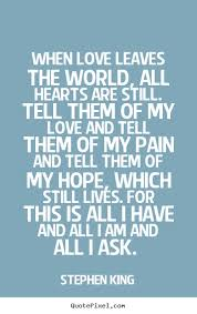 Stephen King Quotes On Love Simple Quotes About King And Love 48 Quotes