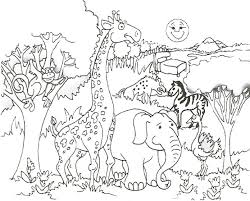 Small Picture Coloring Pages Animals Giraffe Coloring Pages Giraffe Coloring