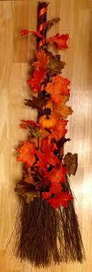 Decorative Autumn Cinnamon Scented Broom By Heatherannscreations