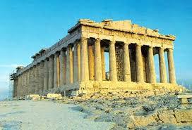 Реферат Архитектура Афинский Акрополь  размерам Эрехтейон контрастирует со строгим и величественным подчеркнуто монументальным Парфеноном храм Афины Девы 69 5 м в длину и 30 9 м в ширину