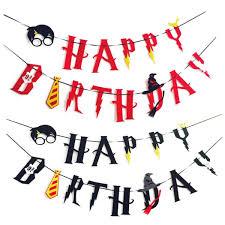 Happy Birthday Banner Felt Garlands Bunting