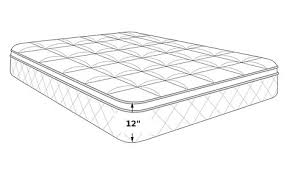 Bedgear M1X Twin Mattress Dimensions