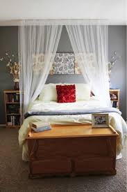 Canopy Curtain over bed | The house that built me | Pinterest | Canopy  curtains, Canopy and Bedrooms