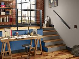 tables for home office. View In Gallery Wooden Trestle Desk An Industrial Home Office Space Tables For I