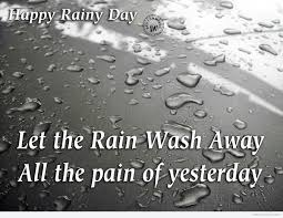 Good Morning Rainy Day Quotes Best of Happy Rainy Day DesiComments
