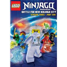 LEGO Ninjago Rebooted: Battle for New Ninjago City - Season Three, Part One  (DVD) in 2021