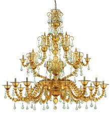 diamantei chandelier 21 arms by venini to enlarge