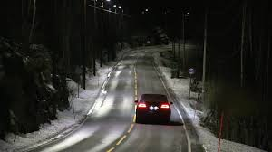 Lights Dimming In Car Highway Lights Save Energy By Dimming When No Cars Are Around