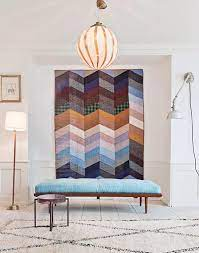 modern quilt wall hangings