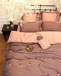 modern bedding sets king 4 cute pineapple luxury cotton modern bedding set queen king size girls