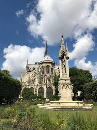 burned in fire at notre dame cathedral