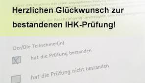 Herzlichen Glückwunsch Zur Bestandenen Ihk Prüfung Zal Berlin