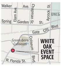 White Oak Amphitheater Greensboro Nc Seating Chart New Event Space Under Construction At Greensboro Coliseum