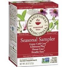 Traditional Medicinals <b>Seasonal Tea</b> Sampler <b>Variety Pack</b>, 16 <b>Tea</b> ...