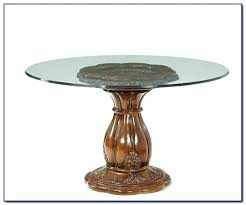 inch round glass table top inches dining 42 66 x t