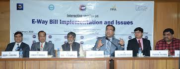 interactive session on e way bill implementation and issues conference