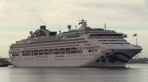 p o cruises aurora princess cruises sun princess arrives southton 27 05 19