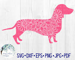 Free download german shepherd svg icons for logos, websites and mobile apps, useable in sketch or adobe illustrator. Dachshund Dog Mandala Svg Dxf Pdf Png Eps Jpg Weiner Etsy In 2020 Weiner Dog Svg Free Svg Files Monogram
