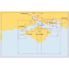 Bookharbour Chart Selector Sc5600 The Solent And Approaches Admiralty Leisure Chart
