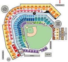 Pnc Park Seating Chart Detailed Pnc Park Seating Chart With Rows And Seat Numbers
