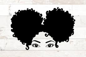 Whether you're a global ad agency or a freelance graphic designer, we have the vector graphics to make your project come to life. Black History African American Black Woman Afro Puffs Svg 478105 Svgs Design Bundles