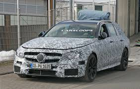 Camouflaged Mercedes-AMG E63 Estate Spotted