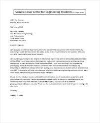 Sample Of Cover Letter For Engineering Job Job Application Letter