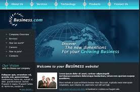 Free Business Website Templates Impressive 28 Free And High Quality CSSXHTML Business Website Templates