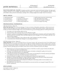Objective For Retail Resume Retail Sales Resume TGAM COVER LETTER 34